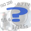 ISO-Blende-Belzeit